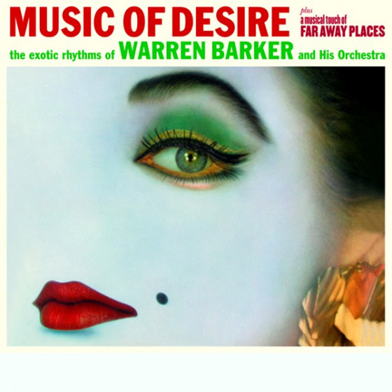 Music of Desire + A Musical Touch of Far Away Places (2 LP on 1 CD) Digipack