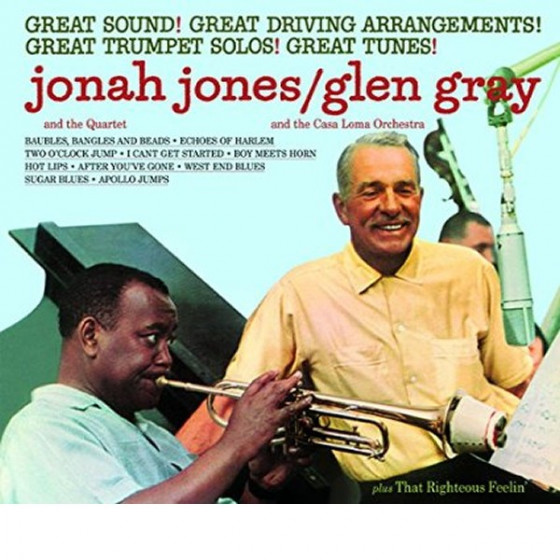 Jonah Jones / Glen Gray + That Righteous Feelin' (2 LP on 1 CD) Digipack