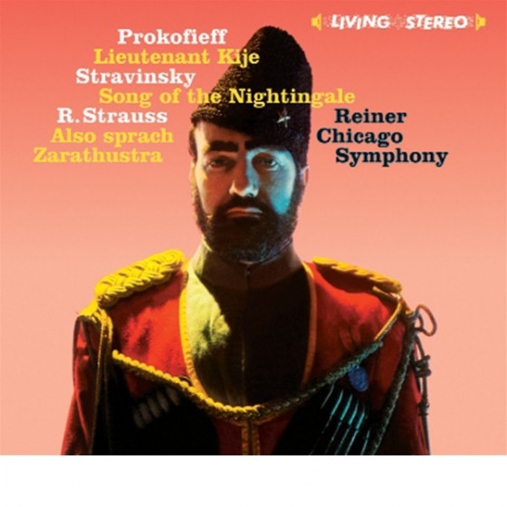 Prokofieff: Lieutenant Kije · Stravinsky: Song of the Nightingale · Strauss: Also Sprach Zarathustra (2 LP on 1 CD) Digipack
