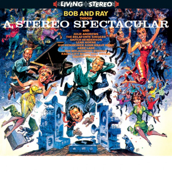 Bob and Ray Throw A Spectacular Stereo (Digipack Edition)