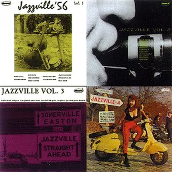 Jazzville (4 EP on 2 CD)
