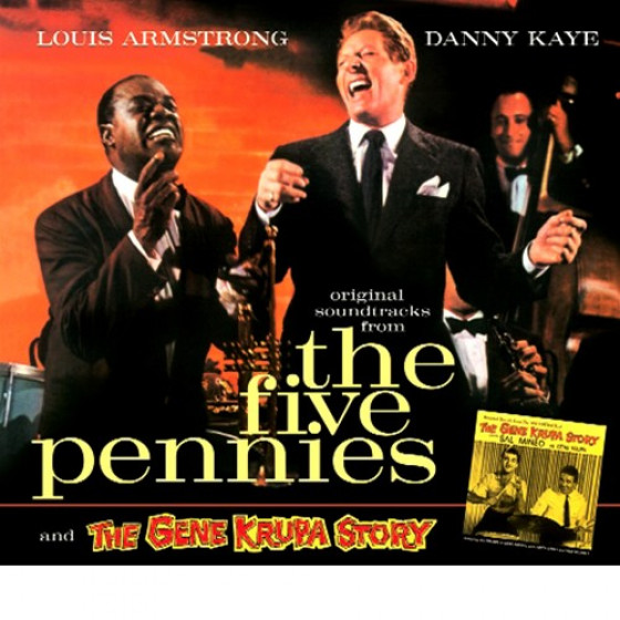 The Five Pennies + The Gene Krupa Story (2 LPs on 1 CD) Digipack Edition