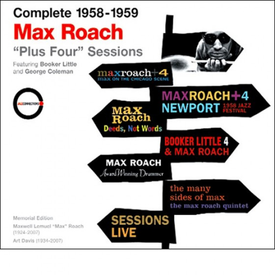 Complete 1958-1959 Max Roach 'Plus Four' Sessions (3-CD Box Set)