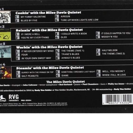 Box Set Back Cover