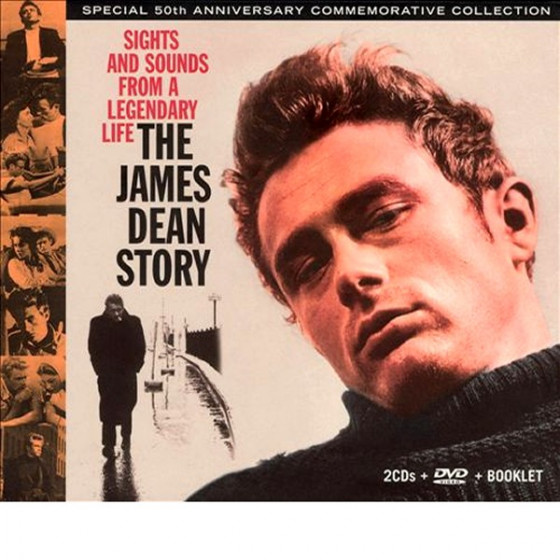 The James Dean Story · Sights and Sounds from a Legendary Life (2 CD + DVD + Book) Box Set