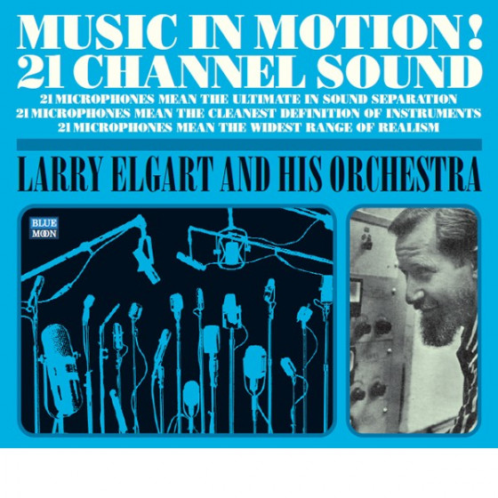 Music in Motion! 21 Channel Sound (2 LP on 1 CD) Digipack