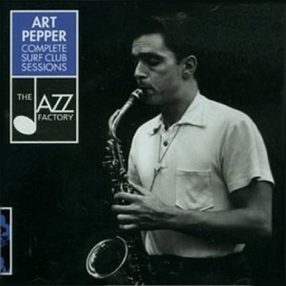 Art Pepper Complete Surf Club Sessions 2 Cd Blue Sounds