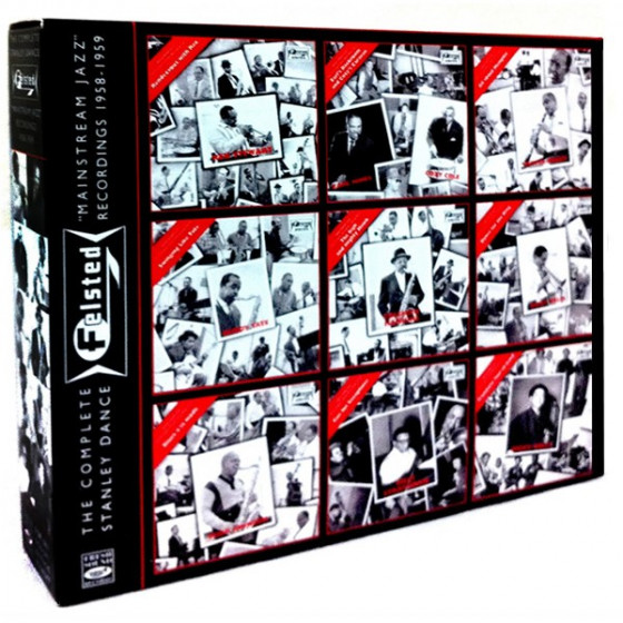 The Complete Stanley Dance FELSTED 'Mainstream Jazz' Recordings 1958-1959 (9-CD Box Set)