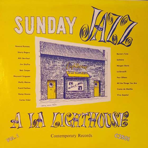 Sunday Jazz A La Lighthouse, Vol. 1 (Vinyl)