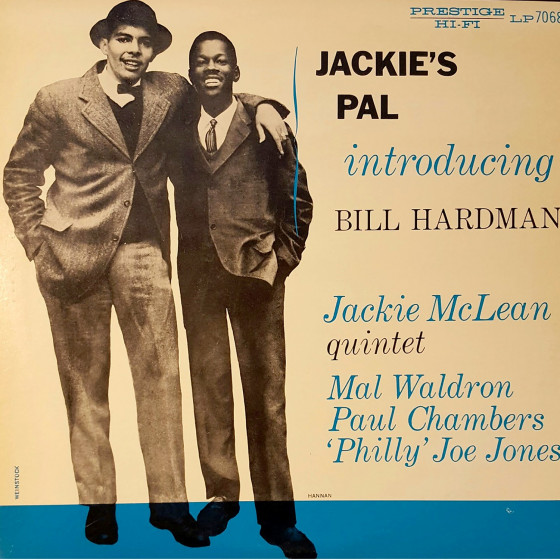 Jackie's Pal · Introducing Bill Hardman (Vinyl)