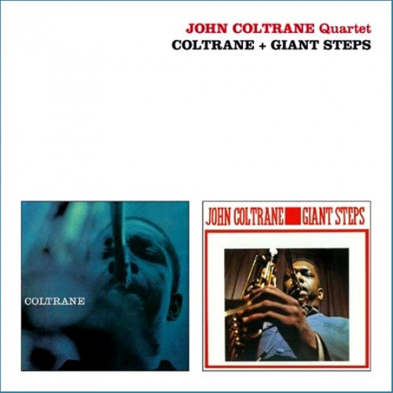 Coltrane + Giant Steps (2 LP on 1 CD)