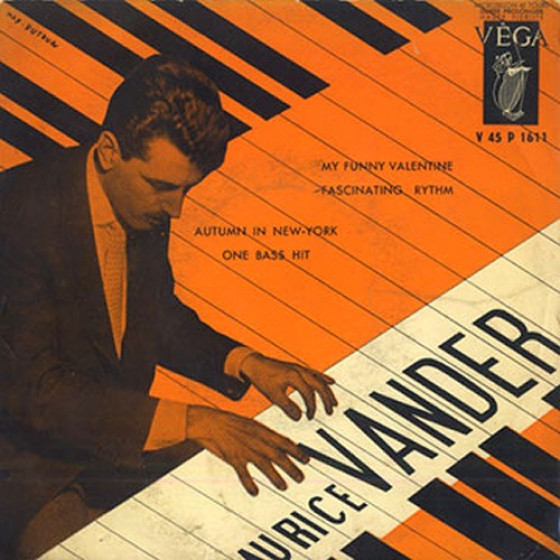 Maurice Vander Piano Jazz 183 Trio Sessions 2 Lp On 1 Cd