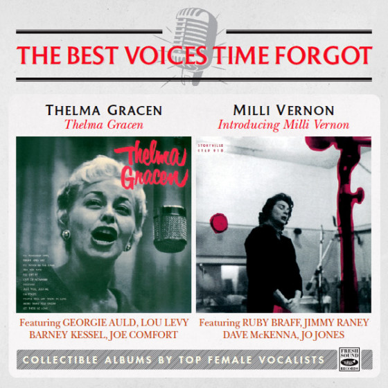 Thelma Gracen + Introducing Milli Vernon (2 LP on 1 CD)