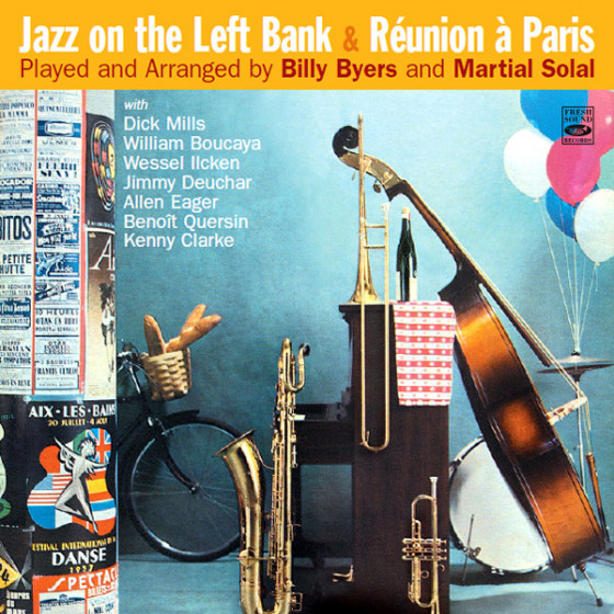 Jazz on the Left Bank + Réunion à Paris (2 LP on 1 CD)