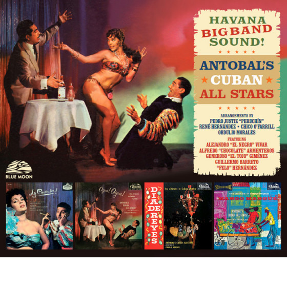 Havana Big Band Sound! (4 LP on 2 CDs) Digifile