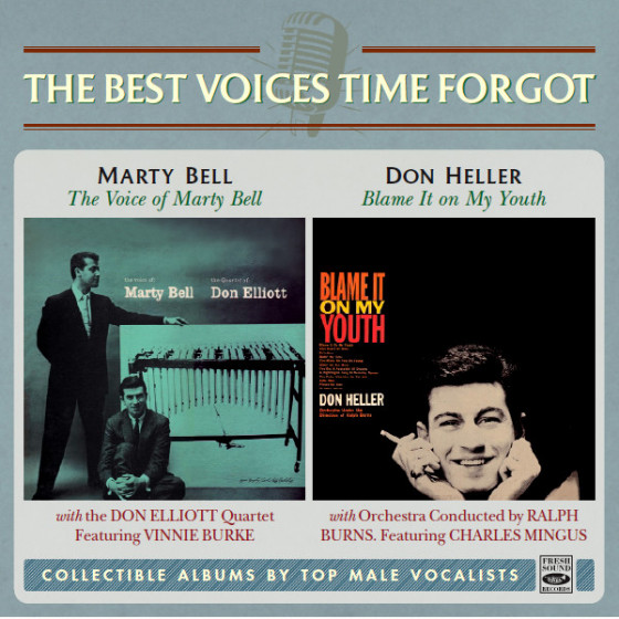 The Voice of Marty Bell + Blame It on My Youth (2 LP on 1 CD)