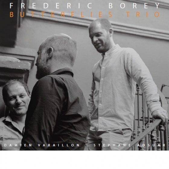Frederic Borey Butterflies Trio (2-CD) Digipack