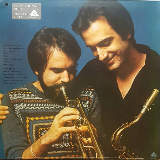 Brecker Brothers Don T Stop The Music Vinyl Blue Sounds