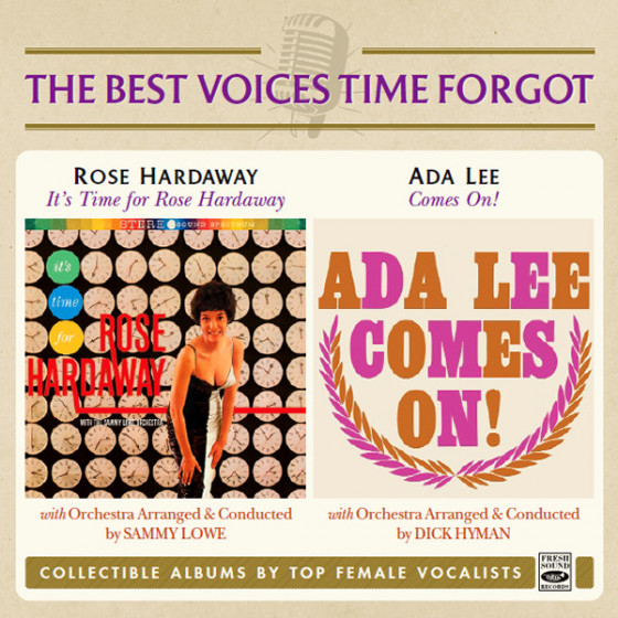 It's Time for Rose Hardaway + Ada Lee Comes On! (2 LP on 1 CD)