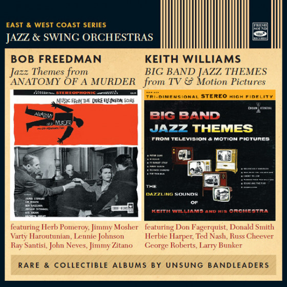 Jazz Themes From Anatomy of a Murder + Big Band Jazz Themes From TV & Motion Pictures (2 LP on 1 CD)