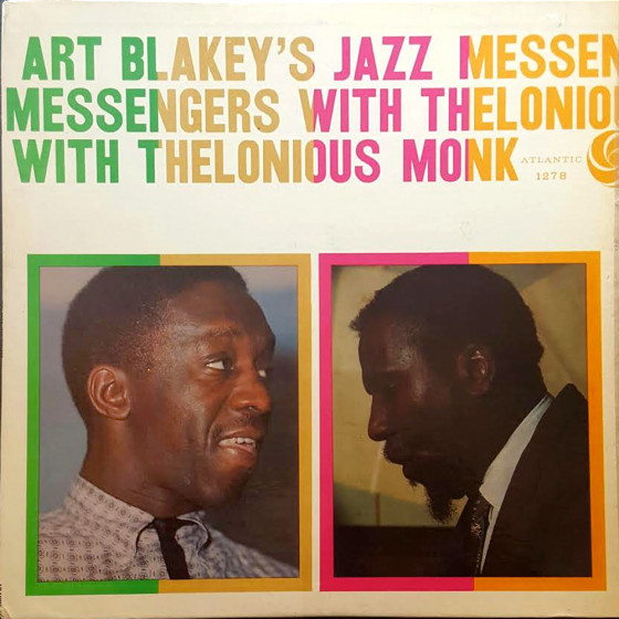 Art Blakey's Jazz Messengers with Thelonious Monk (Vinyl)