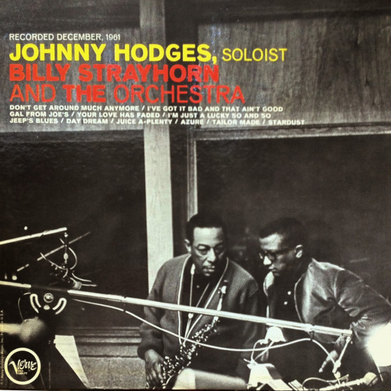 Johnny Hodges With Billy Strayhorn And The Orchestra (Vinyl)