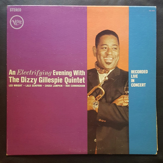 An Electrifiying Evening with the Dizzy Gillespie Quintet (Vinyl)
