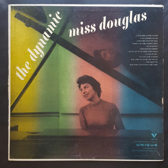 The Dynamic Miss Douglas (Vinyl)