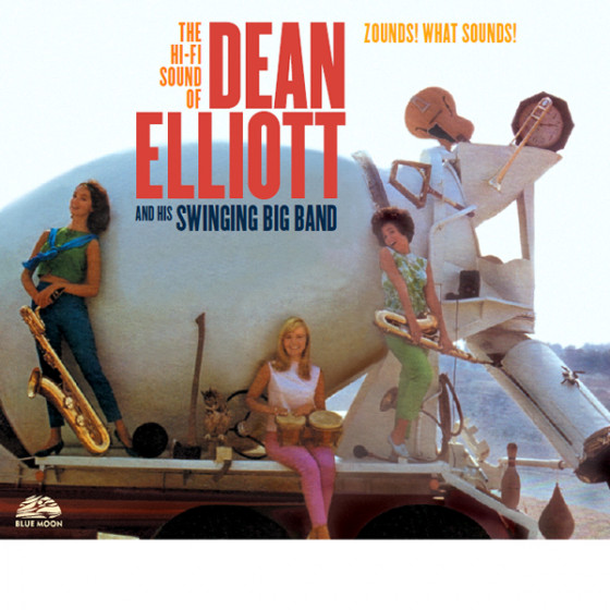 Dean Elliott And His Swinging Big Band (2 LP on 1 CD) Digipack
