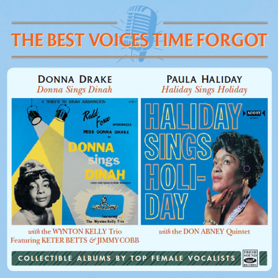 Donna Sings Dinah + Haliday Sings Holiday (2 LP on 1 CD)