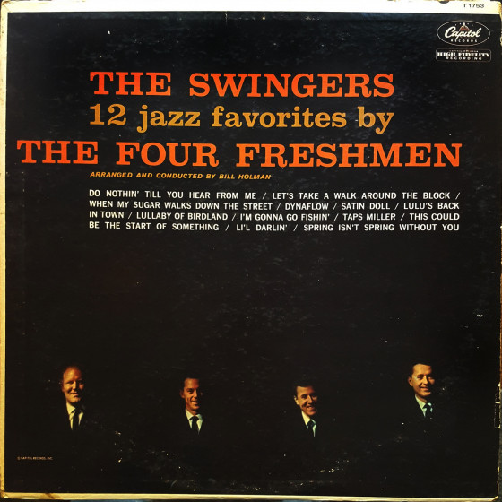 The Swingers · 12 Jazz Favorites by The Four Freshmen (Vinyl)