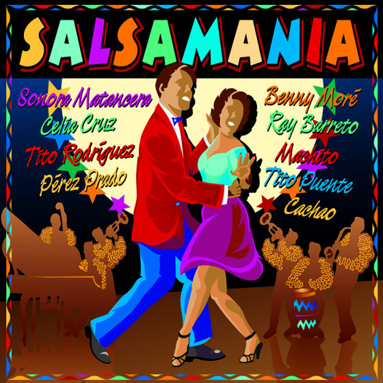 Salsamania, 80 Songs by the Best Interpreters of Salsa - 4 CD