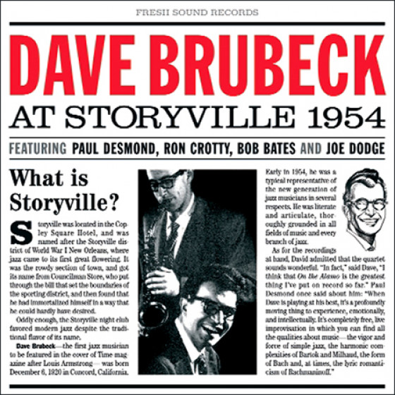 At Storyville 1954