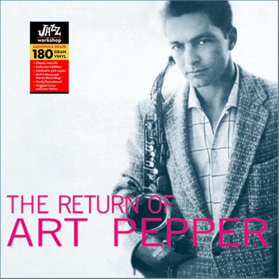 The Return of Art Pepper (Audiophile 180gr. HQ Vinyl)
