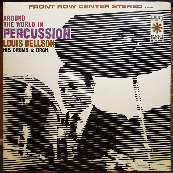 Around the World in Percussion (Vinyl)