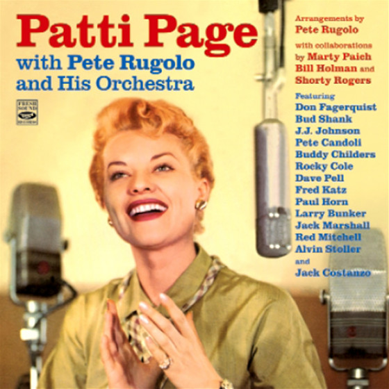 Patti Page with Pete Rugolo & His Orchestra (2 LP on 1 CD)