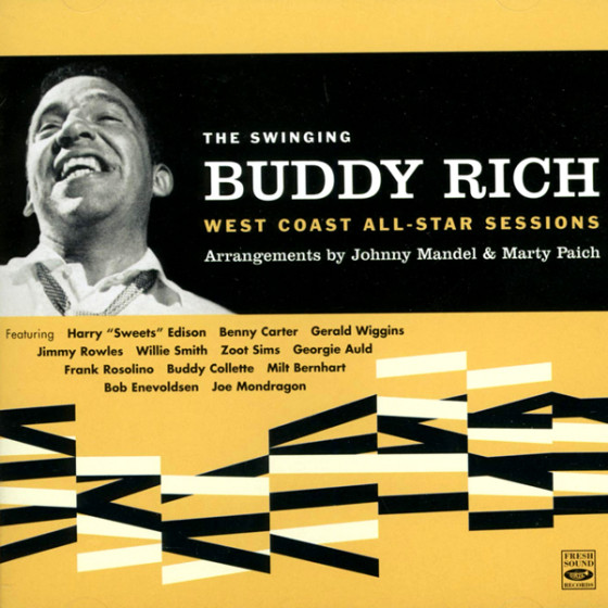 The Swinging Buddy Rich · West Coast All-Star Sessions (2 LP on 1 CD)