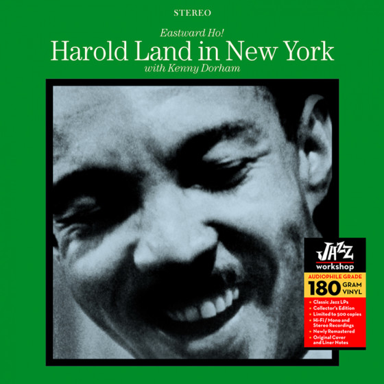 Eastward Ho! Harold Land in New York (Audiophile 180gr. HQ Vinyl)