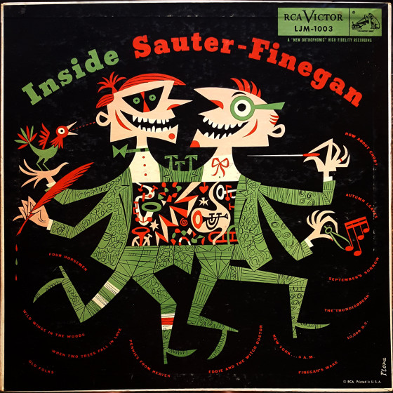 Inside Sauter-Finegan (Vinyl)