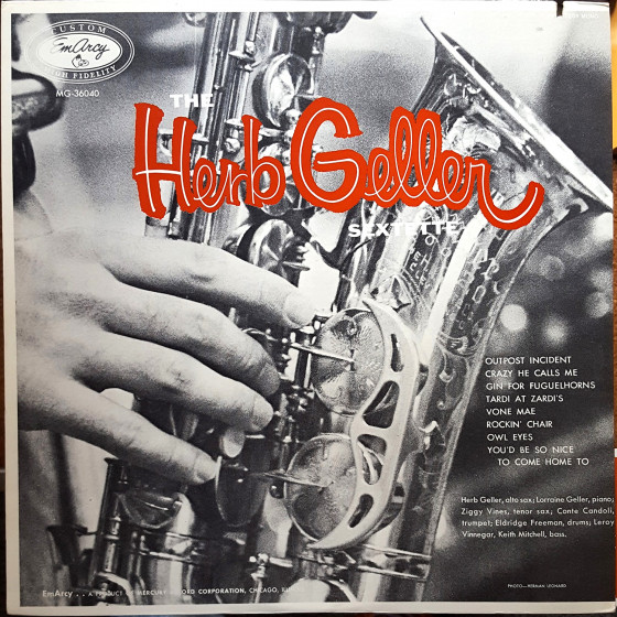 The Herb Geller Sextette (Vinyl)