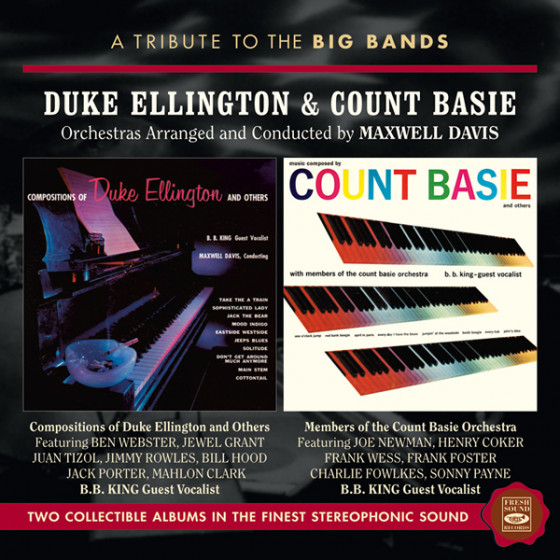 Duke Ellington & Count Basie (2 LP on 1 CD)