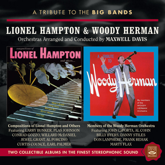 Lionel Hampton & Woody Herman (2 LP on 1 CD)