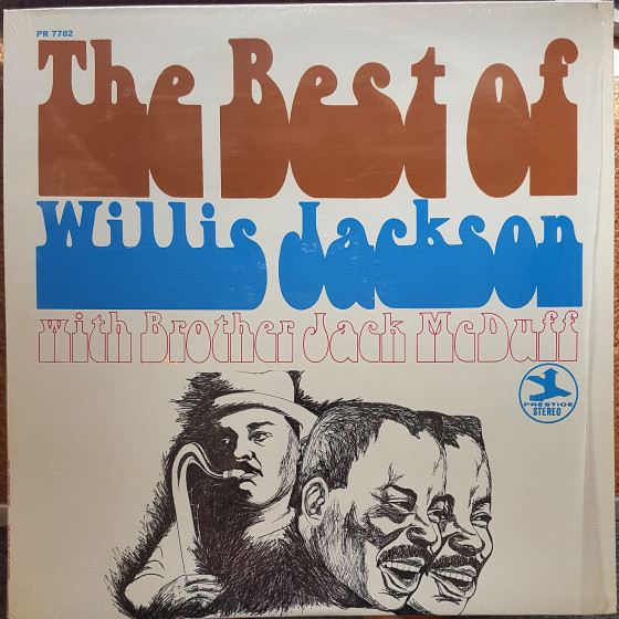 The Best of Willis Jackson with Brother Jack McDuff (Vinyl)