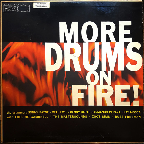 More Drums on Fire! (Vinyl)