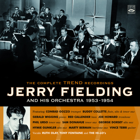 """And His Orchestra 1953-1954 · The Complete Trend Recordings (3 10"""" LP on 1 CD)"""