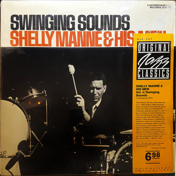 Shelly Manne & His Men, Vol. 4 · Swinging Sounds