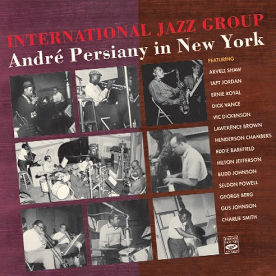 International Jazz Group + Persiany In New York (2 LP + EP on 1 CD)