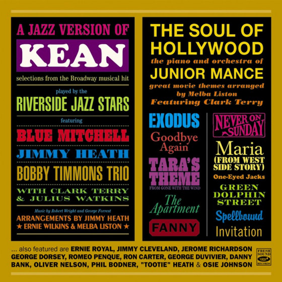 A Jazz Version of 'Kean' + The Soul of Hollywood (2 LPs on 1 CD)