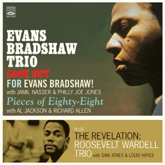 Evans Bradshaw Trio + Roosevelt Wardell Trio (3 LP on 2 CD)