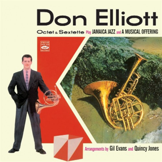 Don Elliott Octet & Sextette - Arrangements by Gil Evans & Quincy Jones (2 LP on 1 CD)